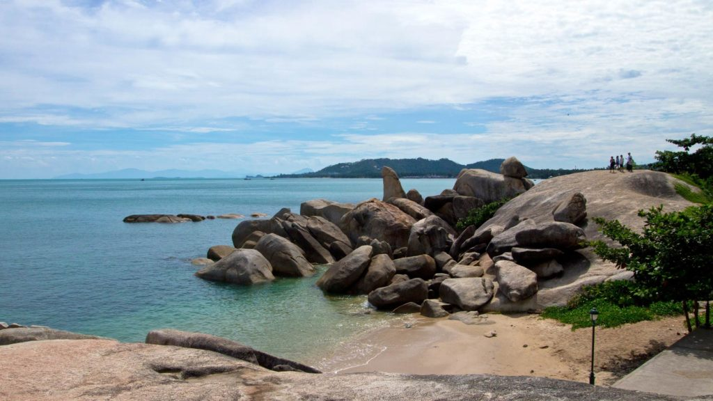 Hin Ta & Hin Yai, der Grandfather and Grandmother Rock in Lamai, Koh Samui