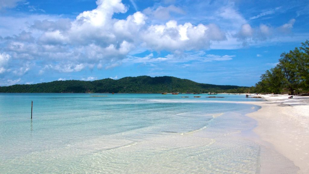 The beautiful island Koh Rong Samloem in Cambodia