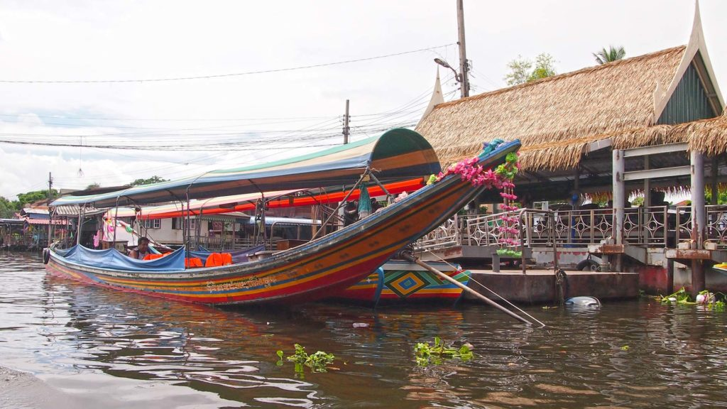 A boat in the Klongs of Bangkok