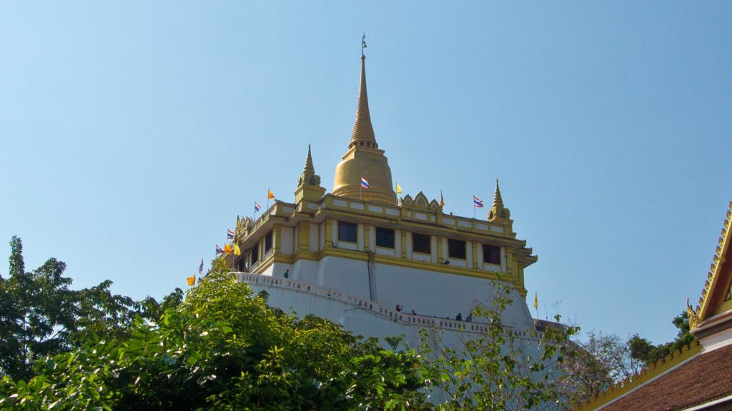 The Wat Saket, Golden Mount of Bangkok