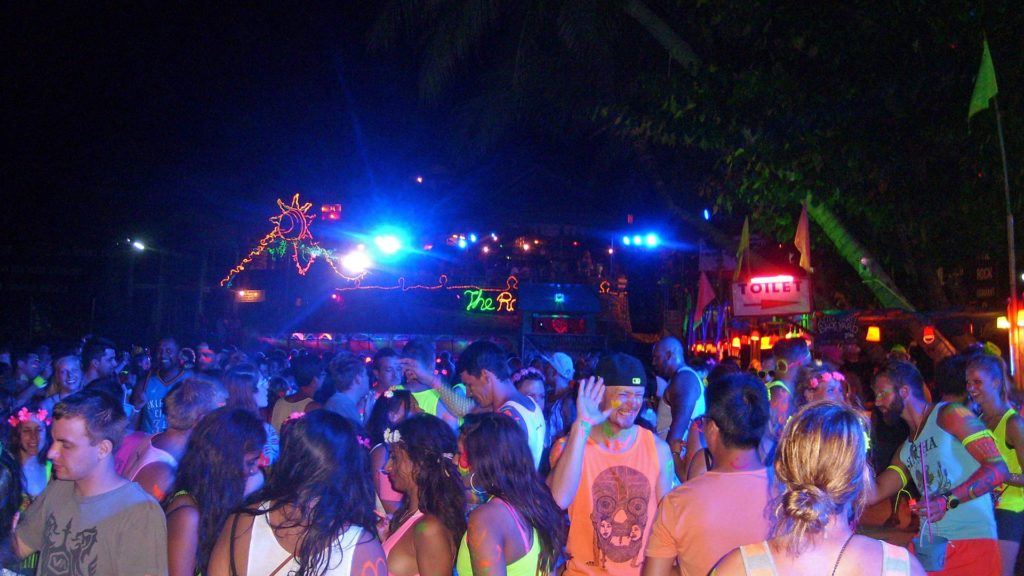 Full Moon Party on Koh Phangan