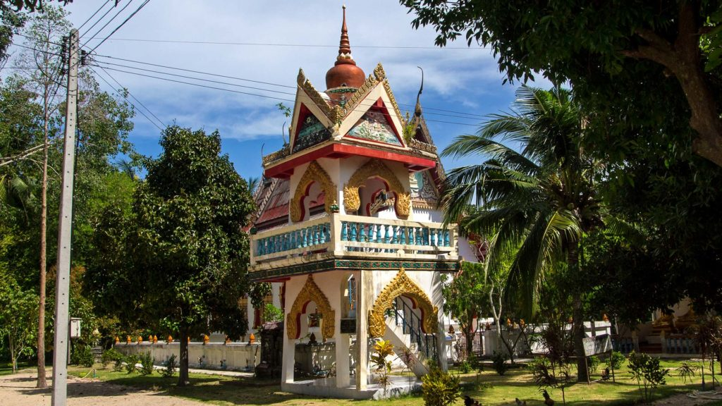 The Wat Pho on Koh Phangan