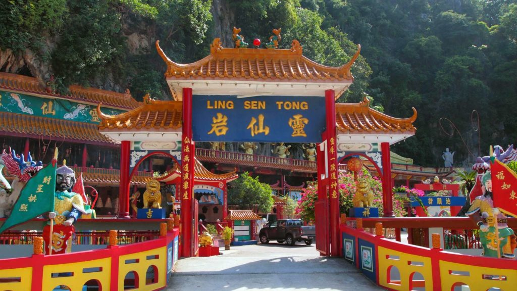 "Der chinesische Tempel ""Ling Sen Tong"" in Ipoh, Malaysia"