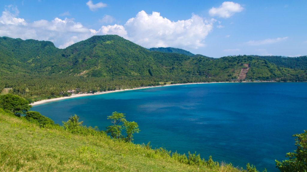 Lombok during the 'green season' (Nipah Beach)