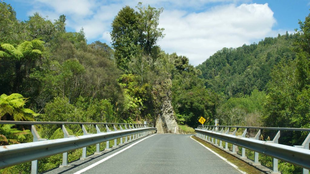 The Forgotten World Highway in New Zealand