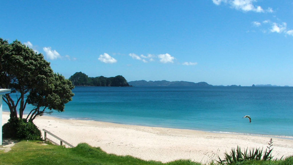 The fantastic and deserted Hahei Beach