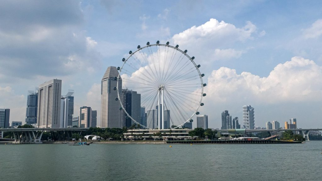 The Singapore Flyer, the Ferris wheel of Singapore