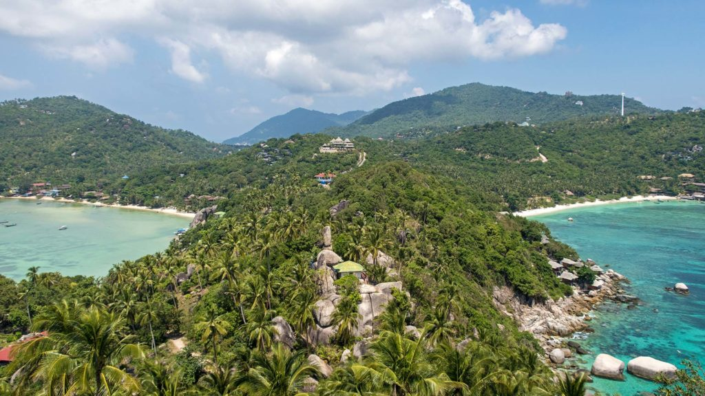 The John Suwan Viewpoint on Koh Tao