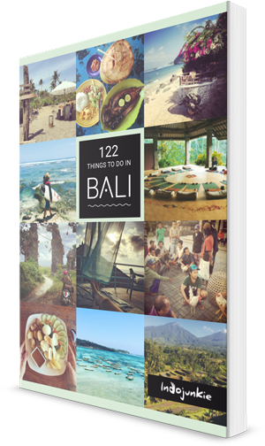 Bali Reiseführer '122 Things to Do in Bali' Cover