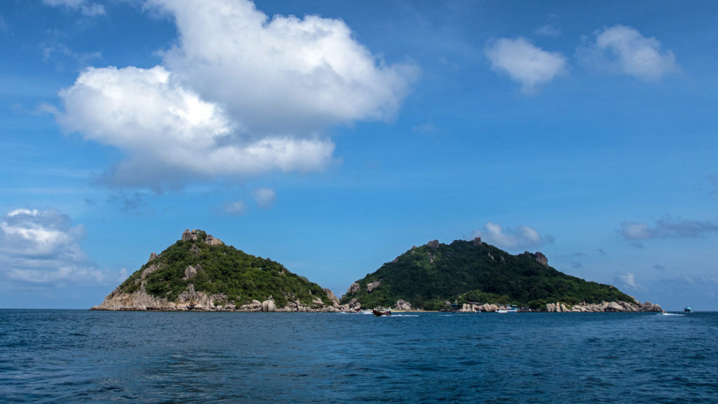 The view from the boat at Koh Nang Yuan