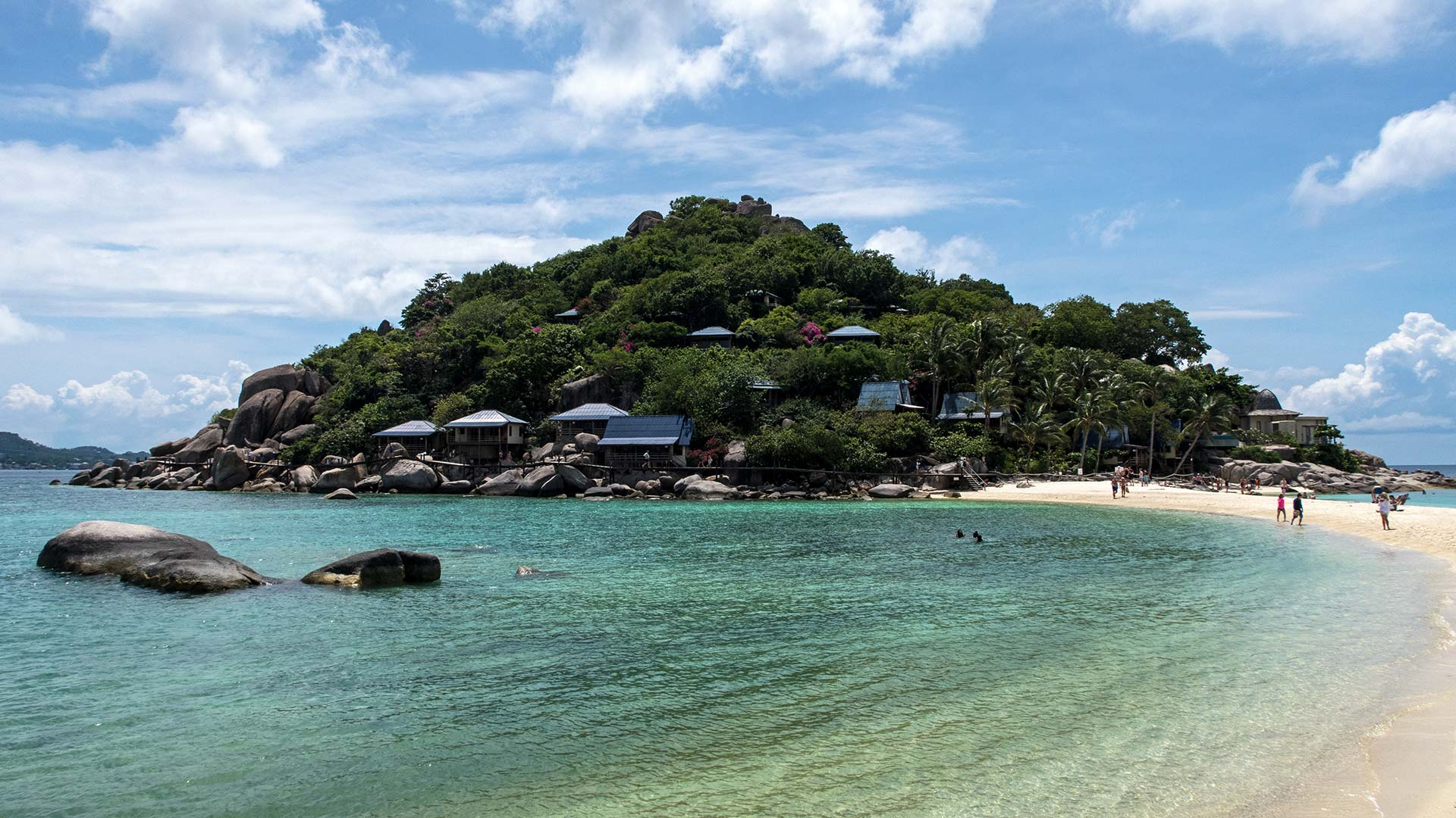 The View At Koh Nang Yuan With Famous Sandbank