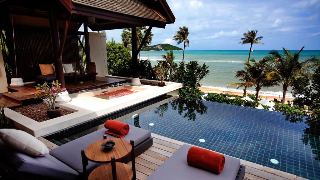 The Anantara Lawana hotel in Chaweng on Koh Samui