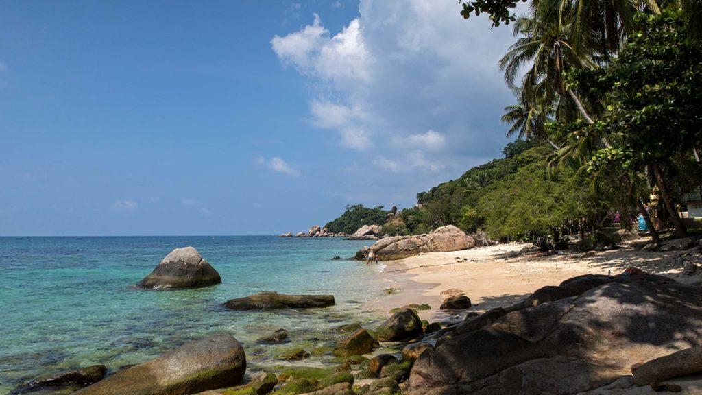 The June Juea Beach on Koh Tao