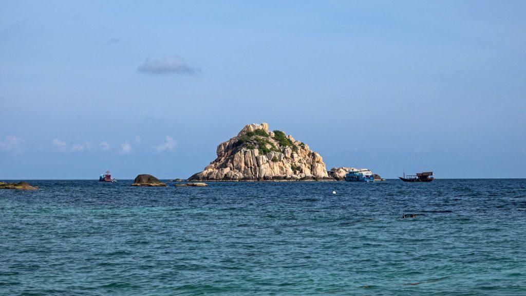 Shark Island off Koh Tao's Sai Daeng Beach