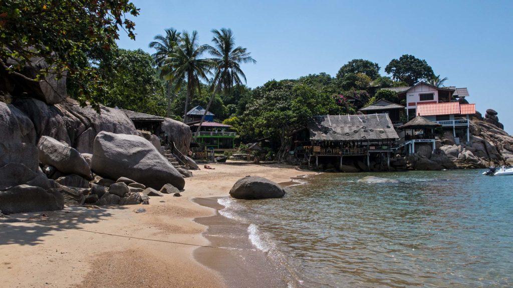 Der Sai Nuan Beach 2 auf Koh Tao