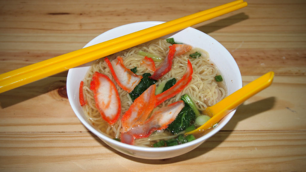Wantan Mee als Suppe