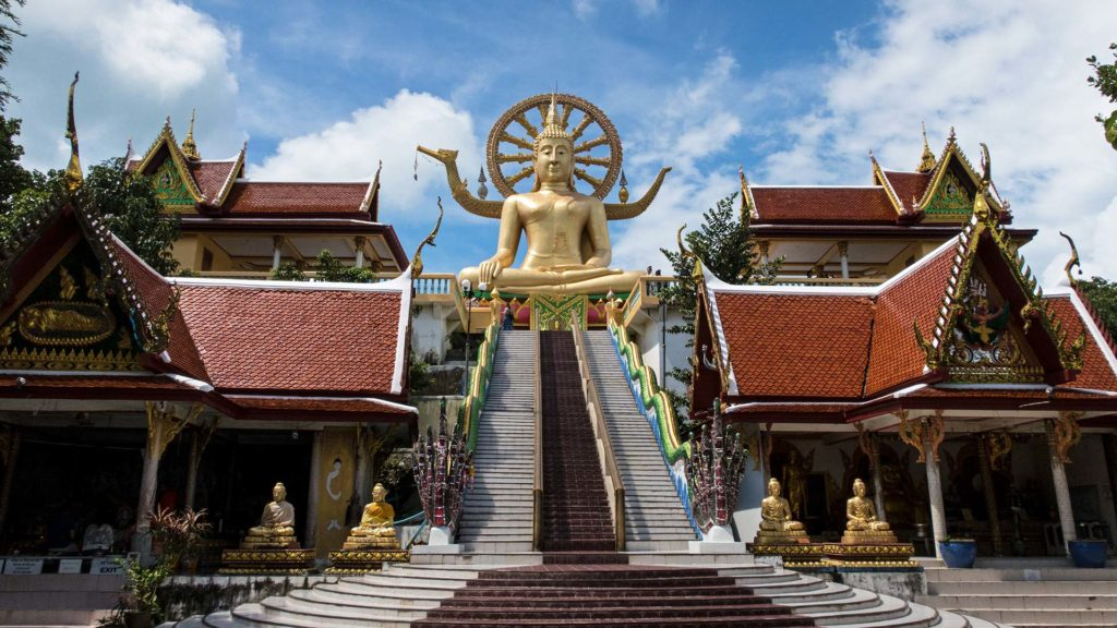 The most famous landmark of Koh Samui, the Big Buddha