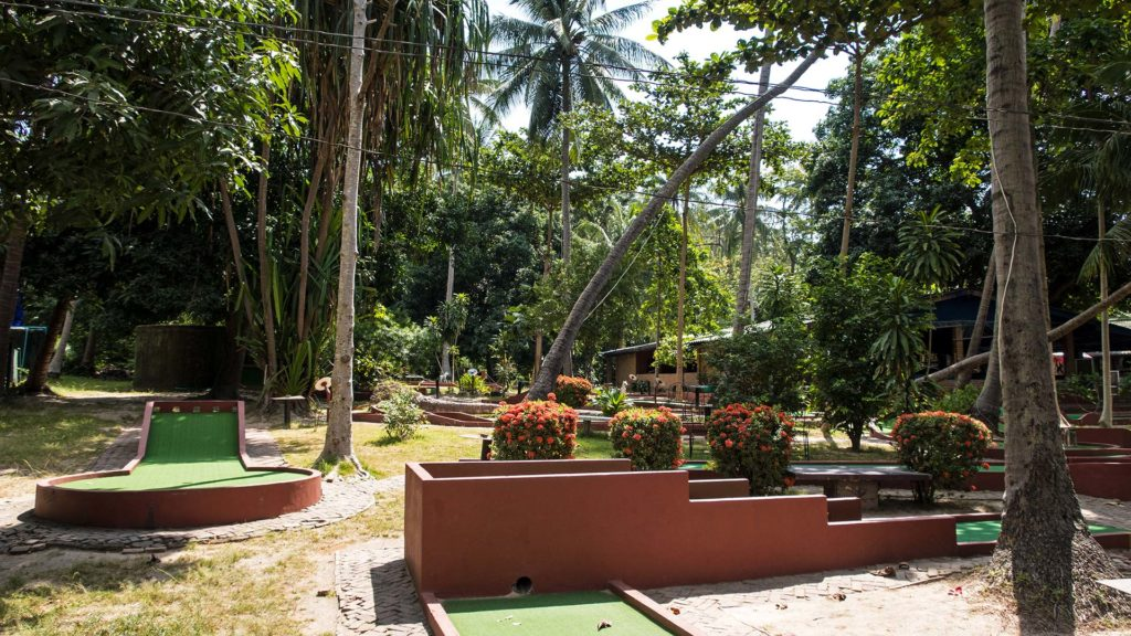 Koh Tao's mini golf course