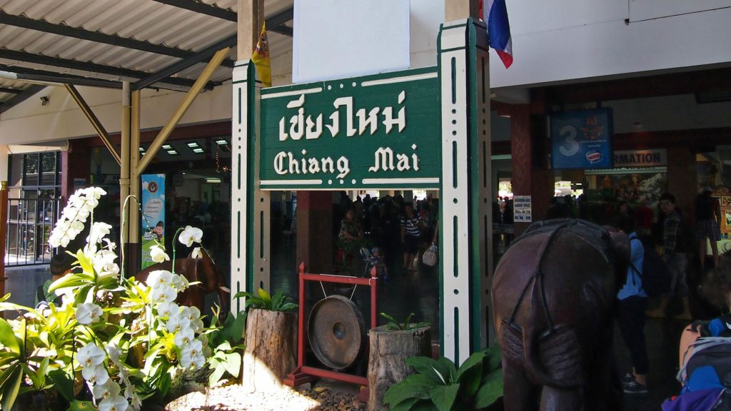 Arrival in Chiang Mai by night train