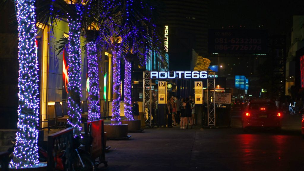 Der Route 66 Club in Bangkoks RCA