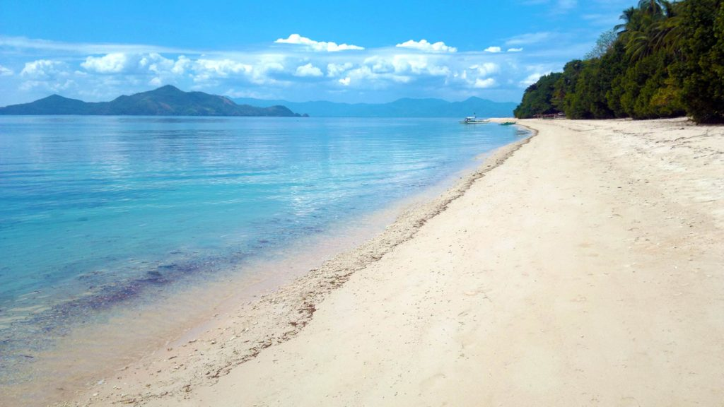 Another beach on Iloc Island in Pical, Palawan