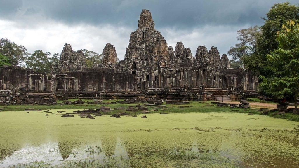 Ausblick auf Bayon im Angkor Thom
