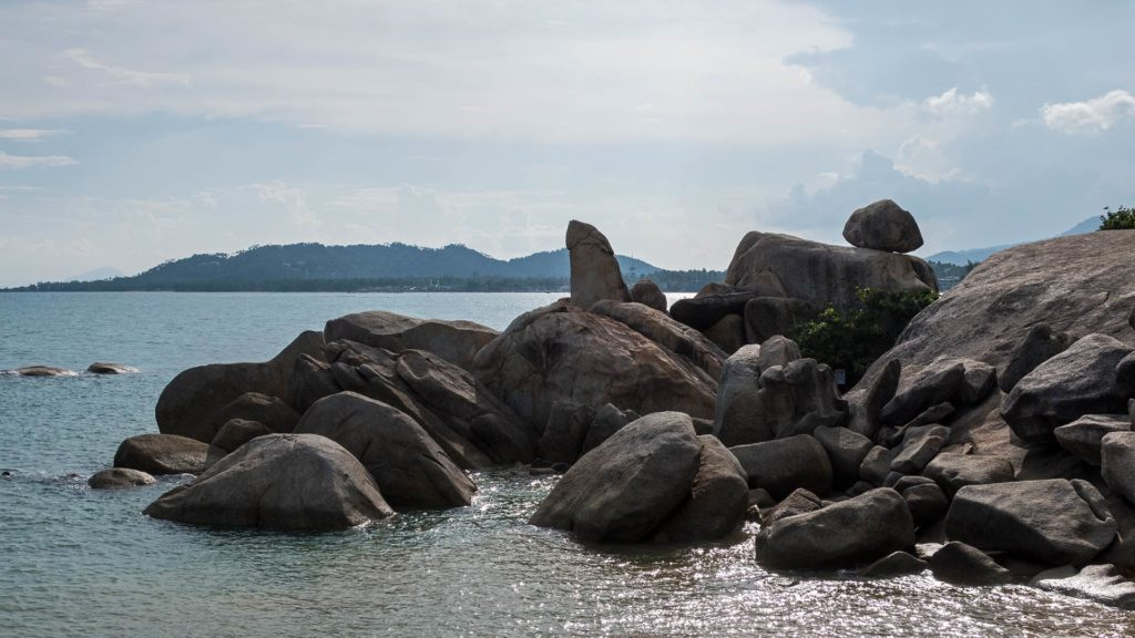 Hin Ta und Hin Yai - Grandfather and Grandmother Rock in Lamai, Koh Samui