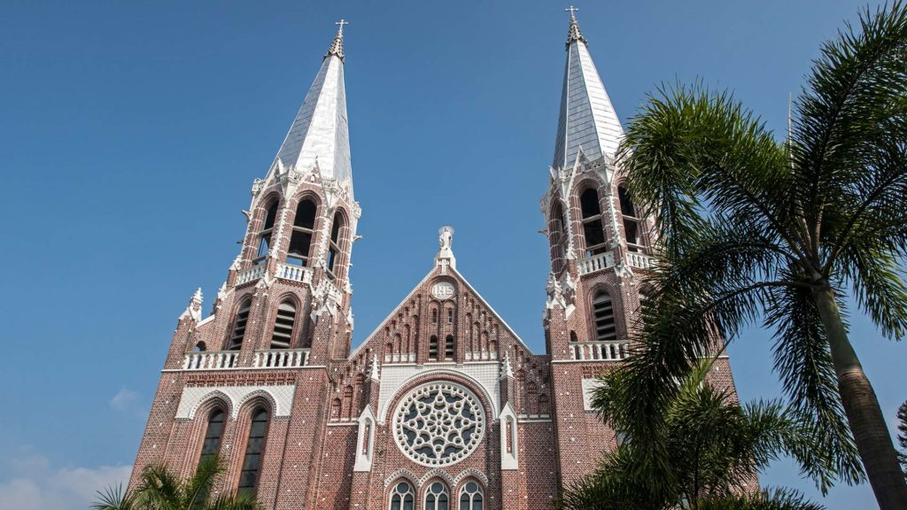Die St. Mary's Cathedral in Yangon