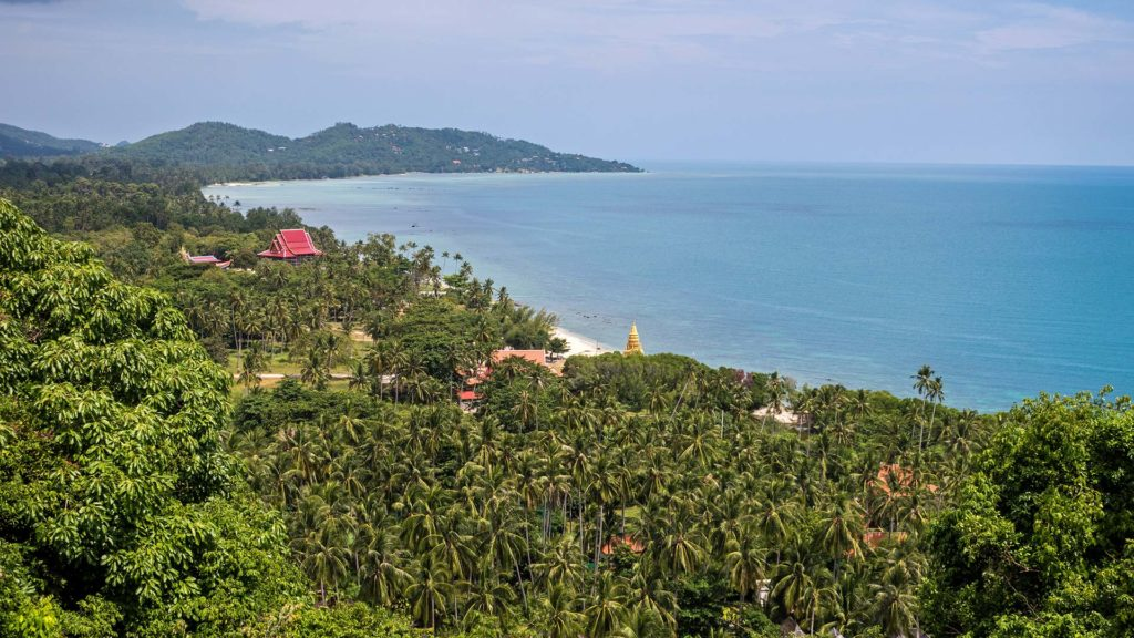 The Laem Sor Pagoda in the south of Koh Samui