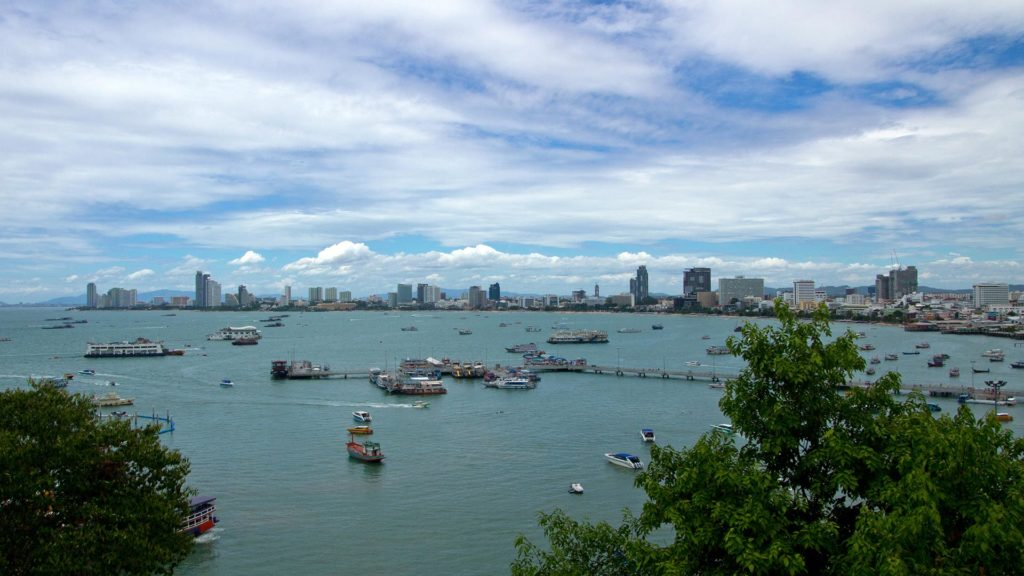 View over Pattaya
