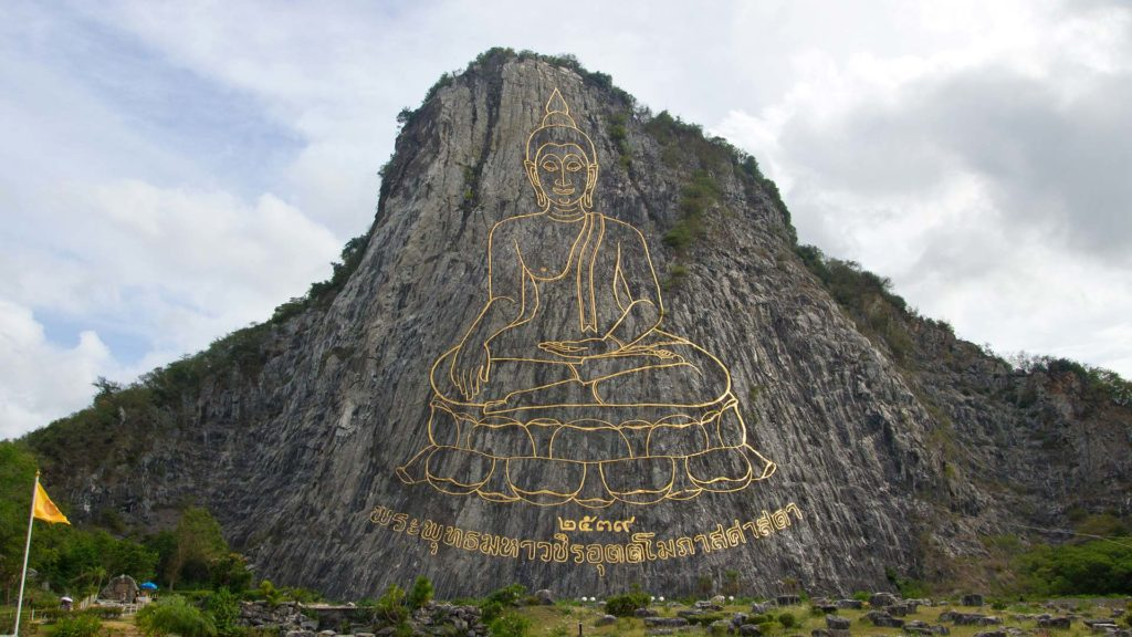Der Buddha Mountain von Pattaya in Thailand
