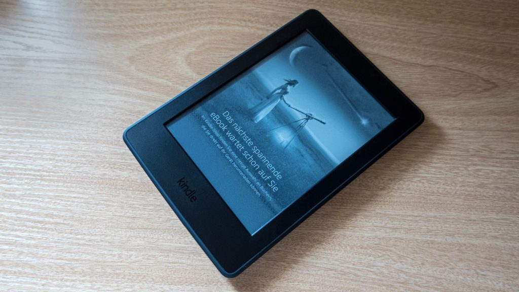 The Amazon Kindle Paperwhite