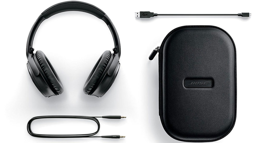 Noise canceling headphones from Bose