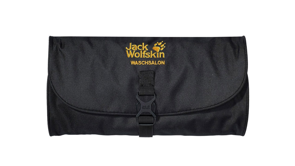 Toiletry bag by Jack Wolfskin for travels