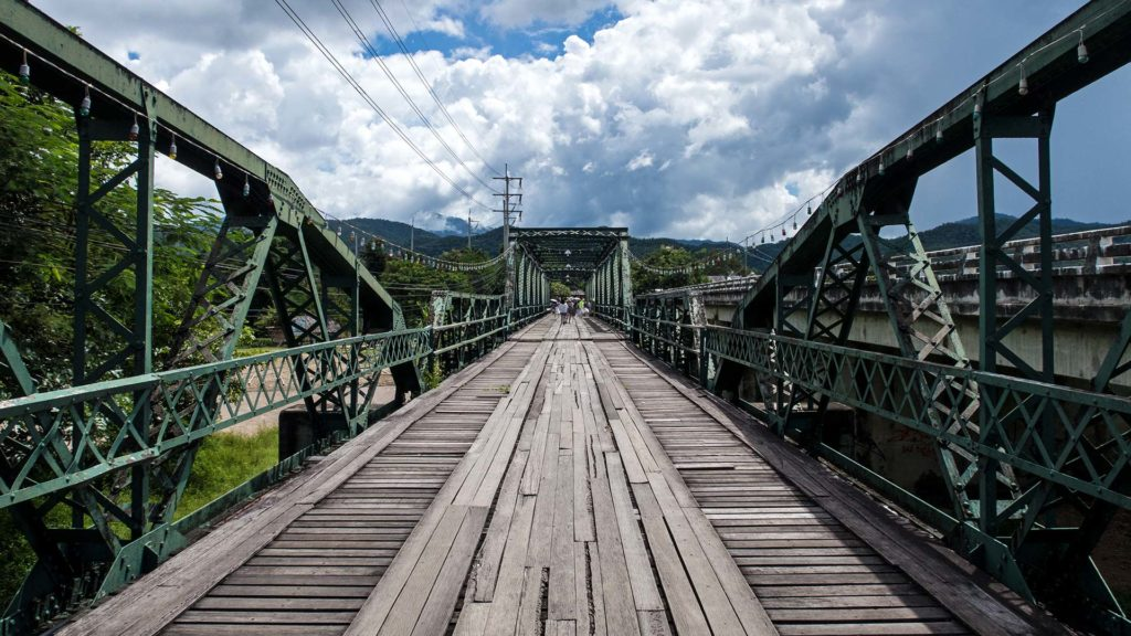 Ausblick auf Pais Memorial Bridge
