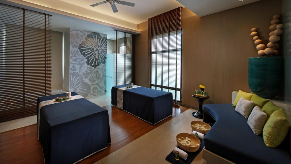 Room inside the Breeze Spa of the Amari Watergate