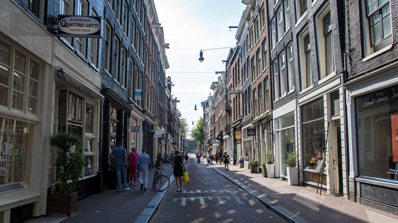 One of the small 9 Straatjes of Amsterdam