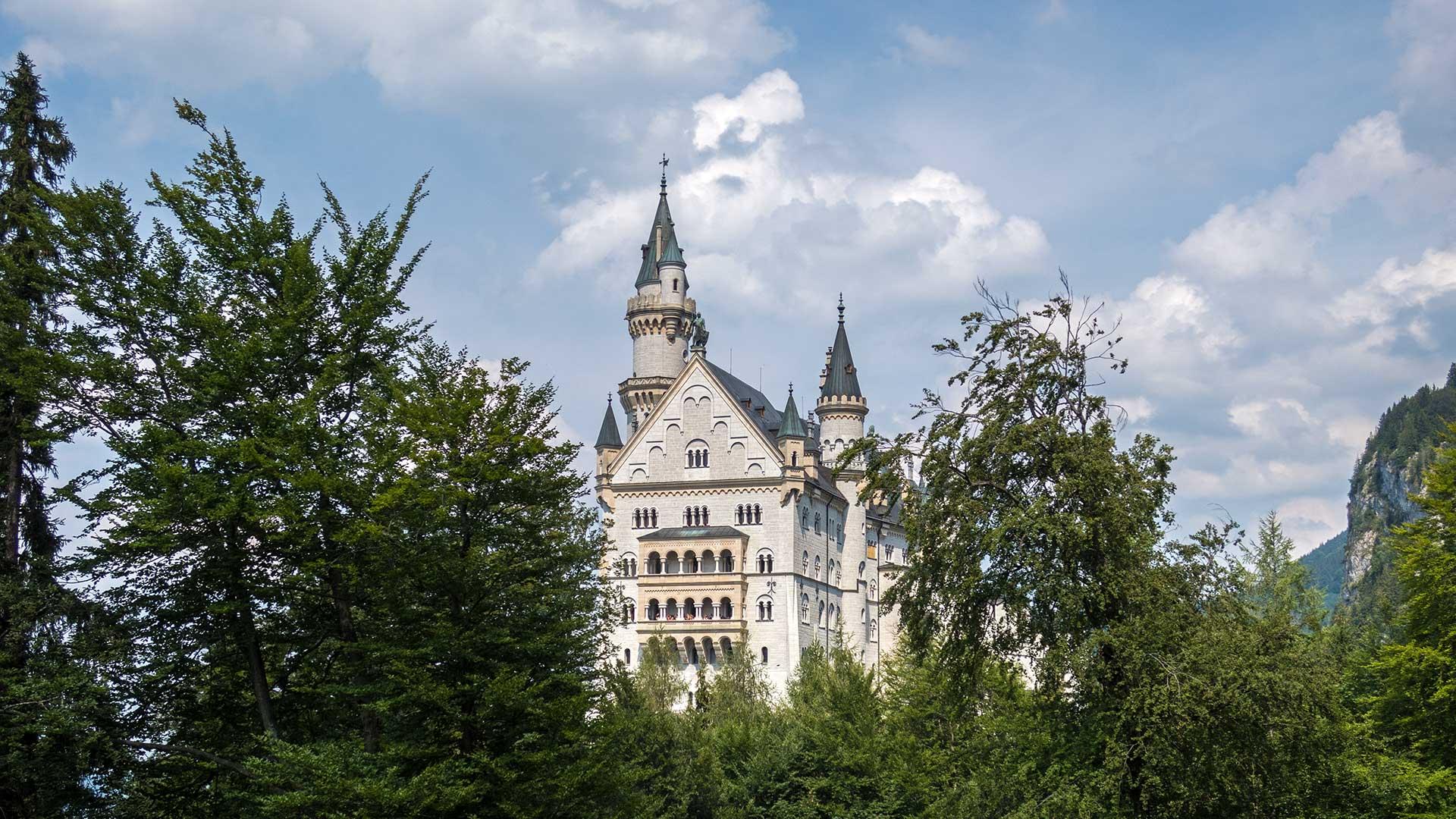 Schloss Neuschwanstein Ein Tagesausflug Von München