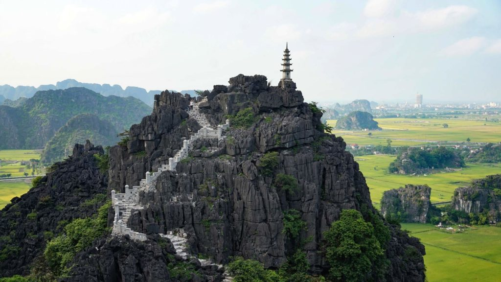 Hang Mua (Flying Dragon Mountain) in Ninh Binh, Vietnam