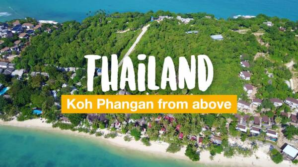 Koh Phangan drone video