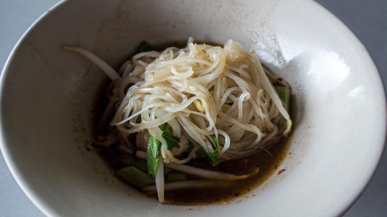 Die berühmten Boat Noodles aus Ayutthaya