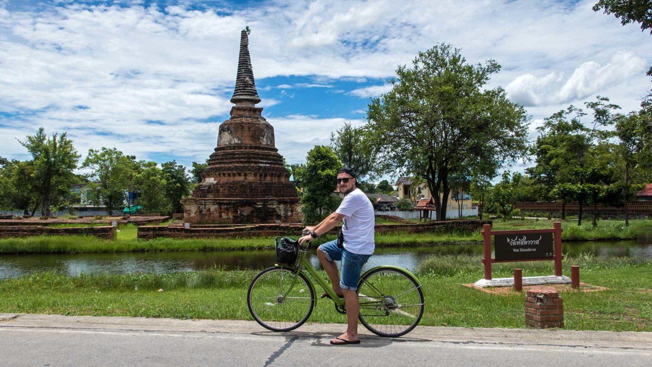 Fahrradtour zu den Tempeln in Ayutthaya