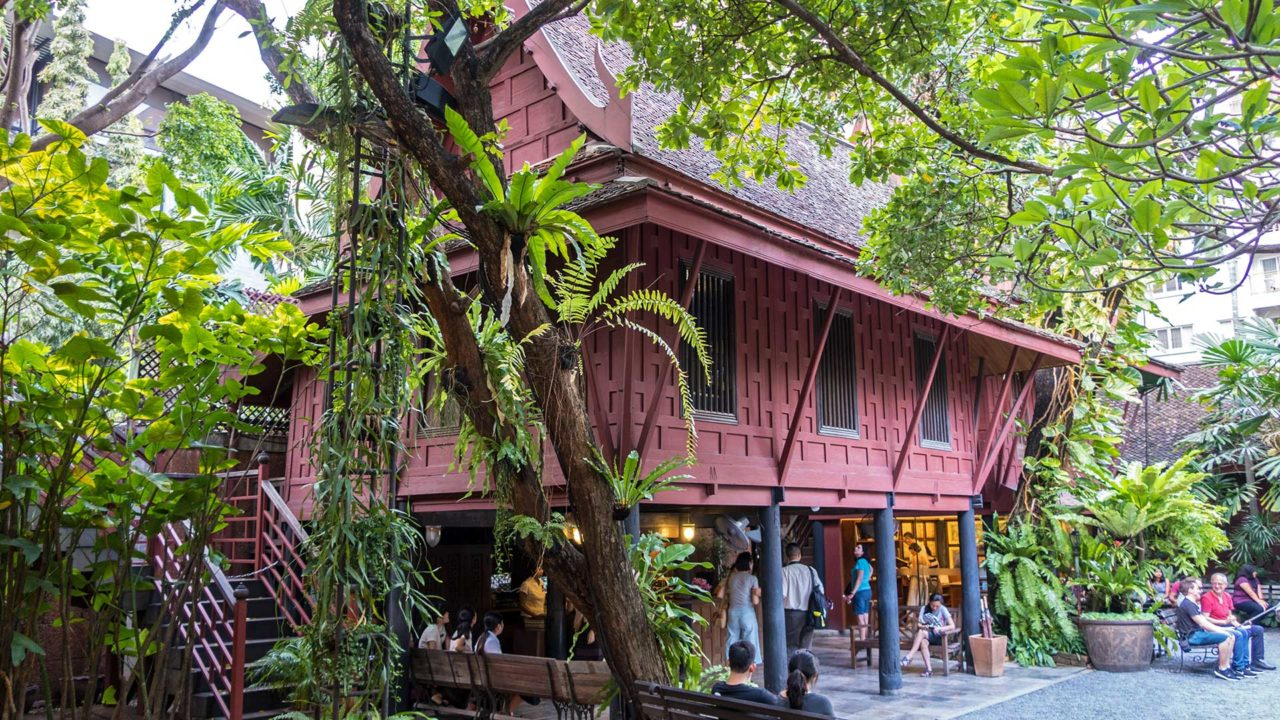 Das Jim Thompson Haus in Bangkok