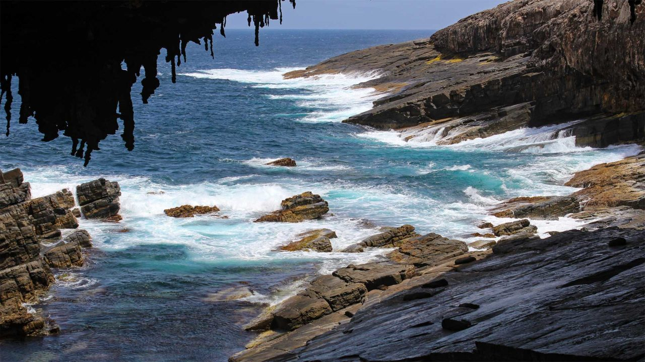 Kangaroo Islands Admirals Arch