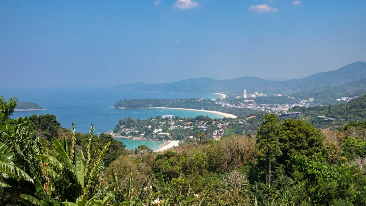 View from the Karon Viewpoint on Phuket