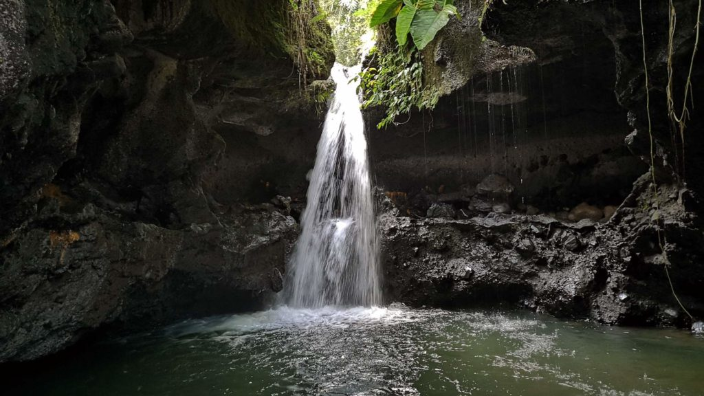 Der Indiana Jones Wasserfall in Tetebatu, Lombok