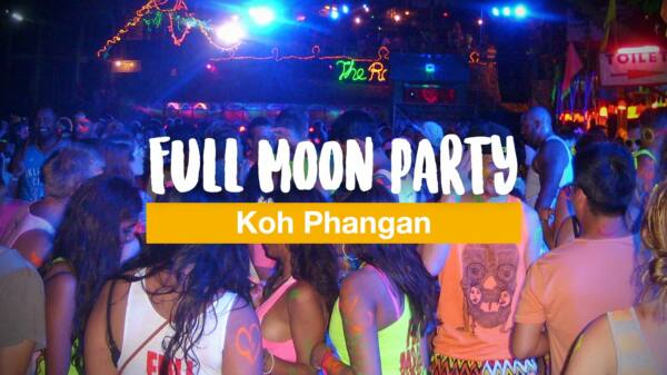 Die legendäre Full Moon Party