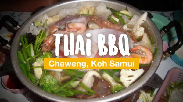 All you can eat: Thai-Buffet-BBQ in Chaweng
