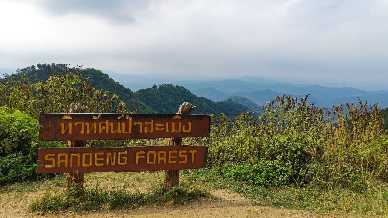 Samoeng Forest Viewpoint, Samoeng Loop