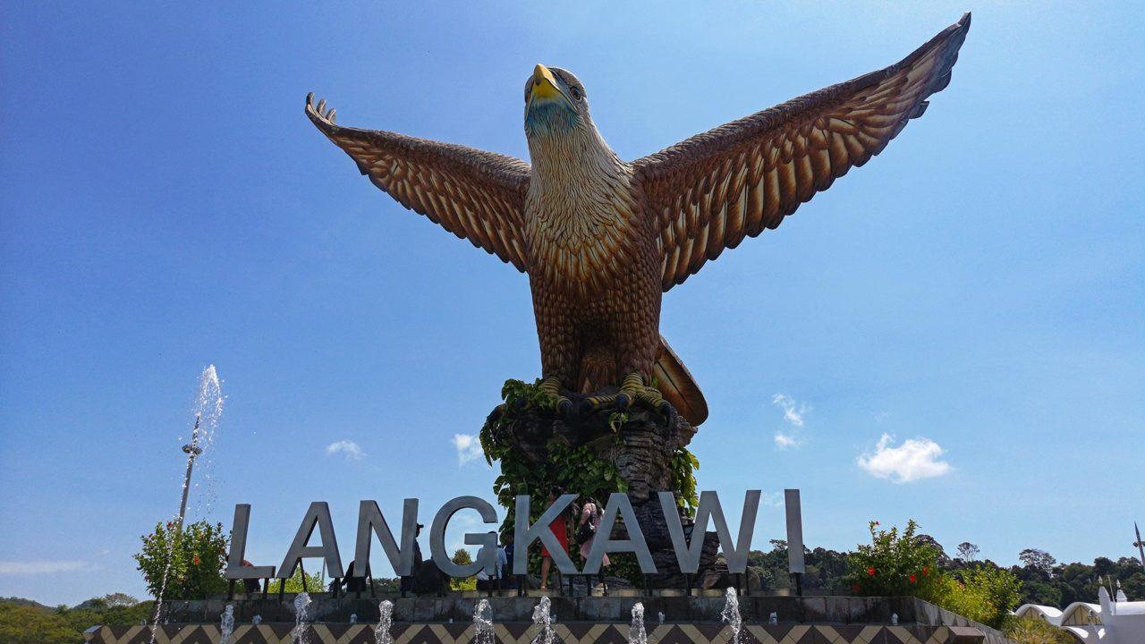 Der berühmte Eagle Square von Langkawi